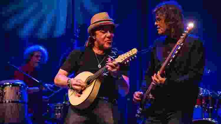 A Cor do Som faz show no Teatro do Bourbon Country, em Porto Alegre - Divulgação - Divulgação