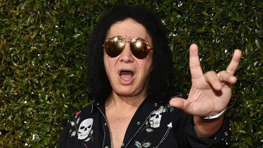 O baixista e vocalista Gene Simmons, líder do Kiss - Getty Images