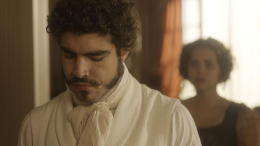 """Dom Pedro assume que trai Leopoldina em """"Novo Mundo"""" - Reprodução/TV Globo"""
