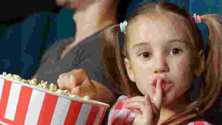 Silêncio no cinema - Reprodução - Reprodução