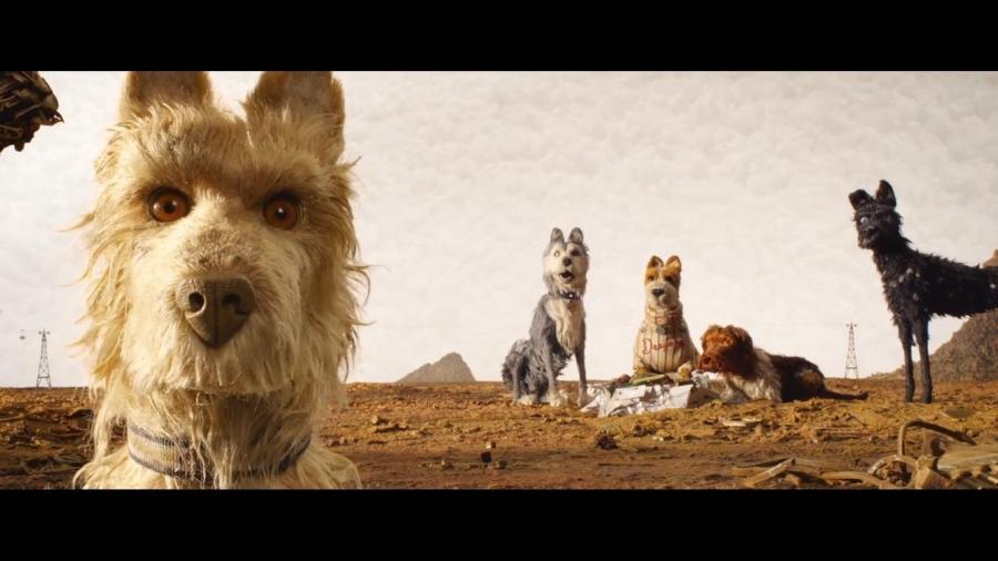 """Cena do filme """"Ilha de Cachorros"""" - Reprodução"""