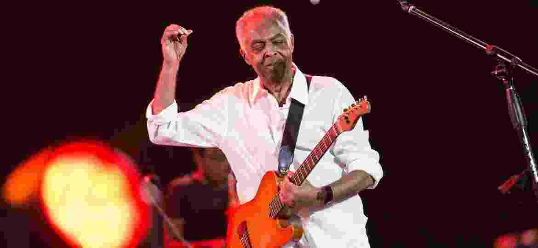 Gilberto Gil em show no Festival de Verão de Salvador - Marcelo Gandra/Futura Press/Estadão Conteúdo
