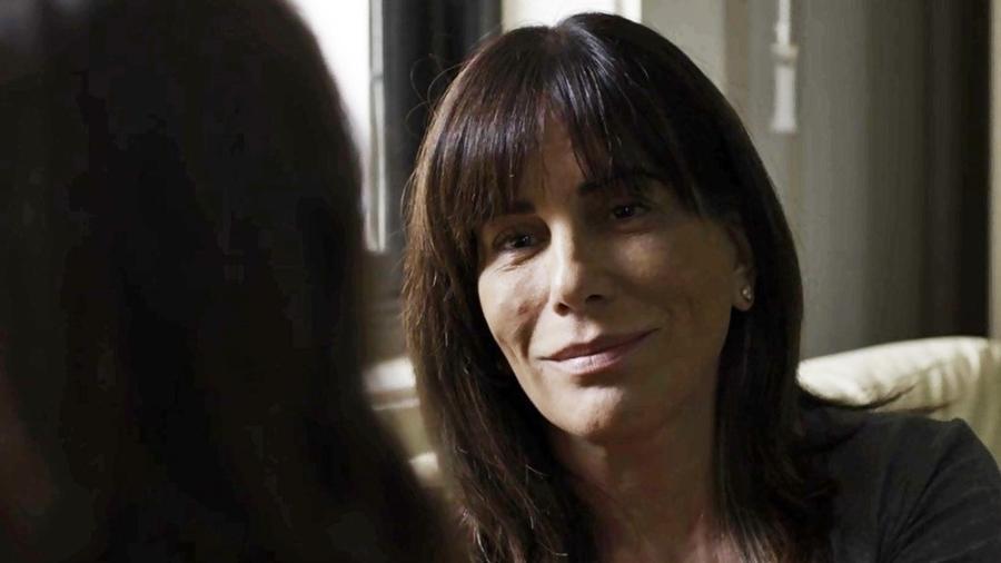 Duda conversa com Clara antes da retomada do julgamento - Reprodução/Gshow