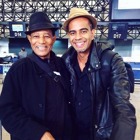Jair Rodrigues e o filho, Jairzinho - Reprodução/Instagram