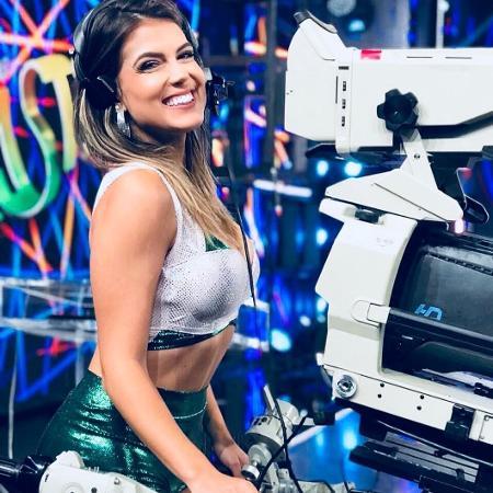 """Nathalia Melo, bailarina do """"Domingão do Faustão"""" - Reprodução/Instagram/nathaliaamelo"""