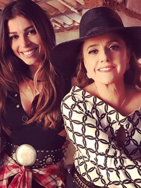 Grazi Massafera e Marieta Severo - Reprodução/Instagram