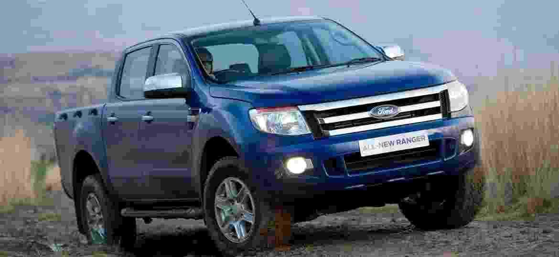 Ford Ranger 2012: primeiro ano-modelo da atual geração está no chamado junto com a geração antecessora - Divulgação