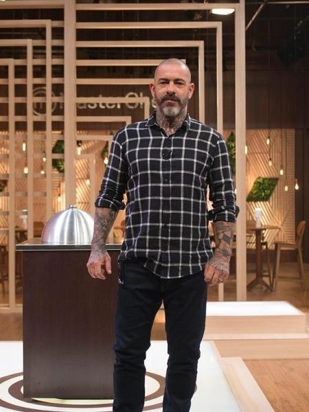 """Chefe Henrique Fogaça, jurado do """"MasterChef"""" na Band - Carlos Reinis/Band"""
