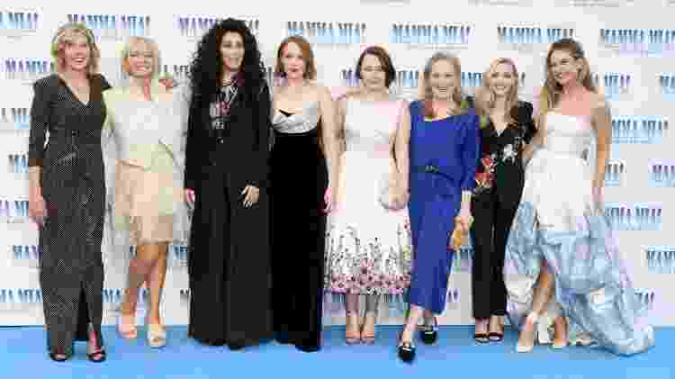 Elenco Mamma Mia 2 - Stuart C. Wilson/Getty Images for Universal Pictures - Stuart C. Wilson/Getty Images for Universal Pictures