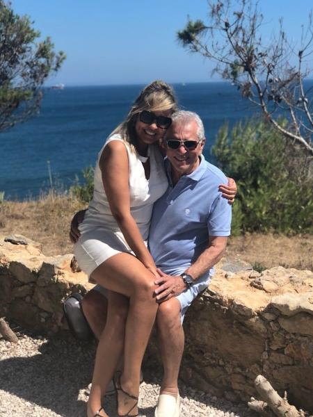 Carlos Alberto de Nóbrega curte nova lua de mel com a mulher, Renata Domingues - Reprodução/Instagram/calbertonobrega