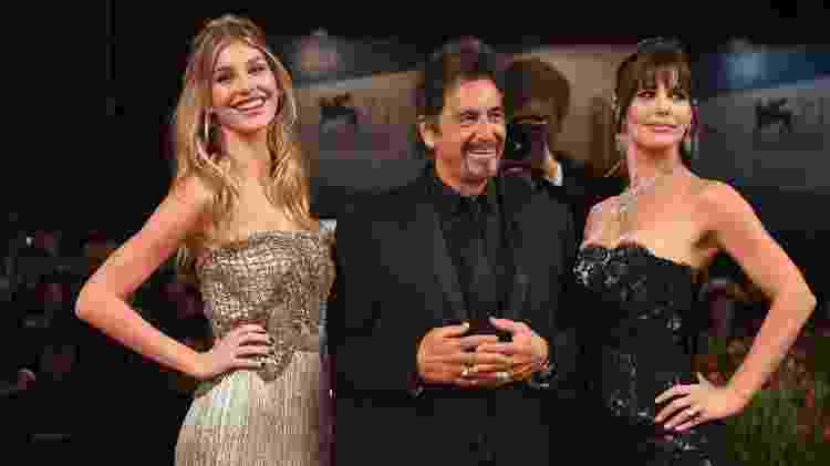 Camila Morrone, Al Pacino e Lucila Polak - Ian Gavan/Getty Images - Ian Gavan/Getty Images