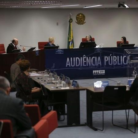 Supremo Tribunal Federal realiza audiência pública sobre descriminalização do aborto  - José Cruz/Agência Brasil