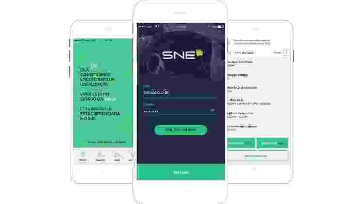 SNE, aplicativo para monitorar e pagar multas de trânsito, traz alerta pop-up de recall em aberto - Divulgação