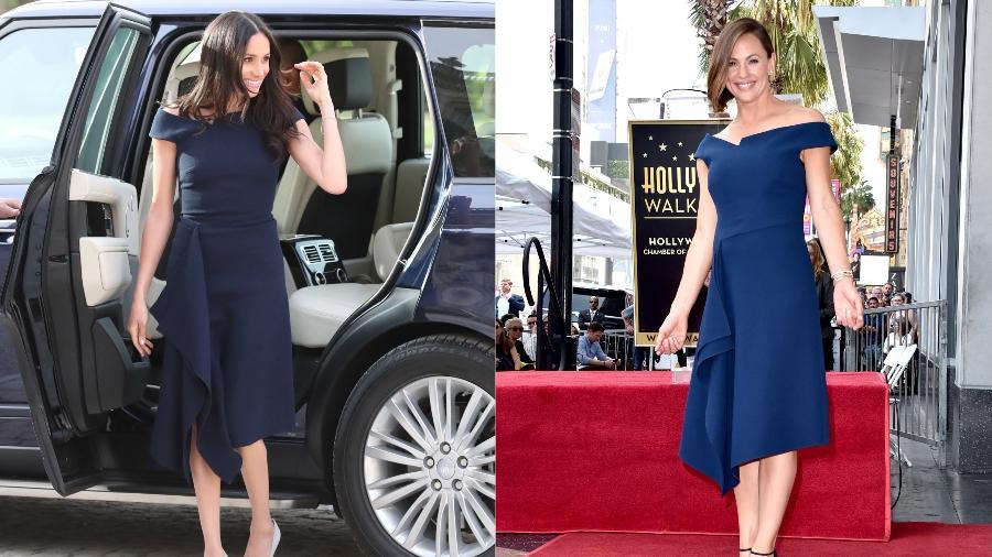 Meghan, a duquesa de Sussex, e Jennifer Garner - Getty Images