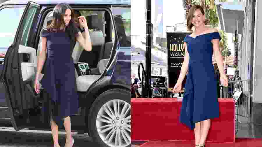 Meghan, a duquesa de Sussex, e Jennifer Garner - Getty Images