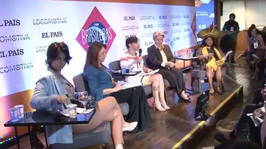 Debate do Instituto Locomotiva com mulheres candidatas à vice-presidência - Reprodução/Facebook