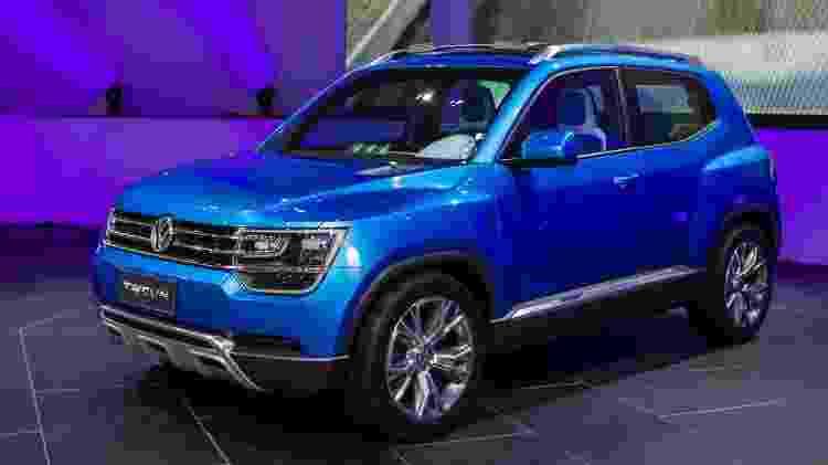Novo SUV pequeno pode trazer visual inspirado no protótipo Taigun e construção será MQB, em Taubaté (SP) - Almeida Rocha/Folhapress