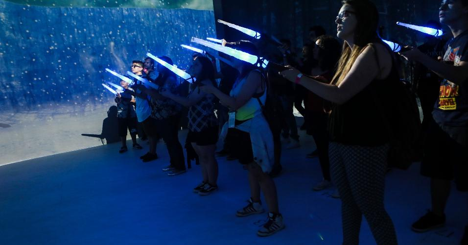 Comic Con Experience oferece experiências interessantes para fãs de séries variadas nos estandes do festival