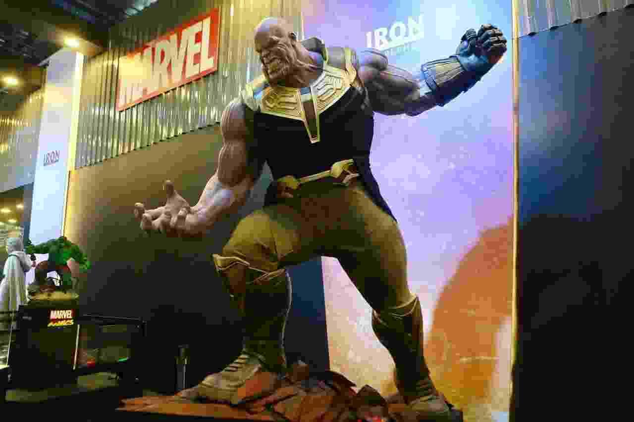 Thanos em tamanho real - Iwi Onodera/UOL