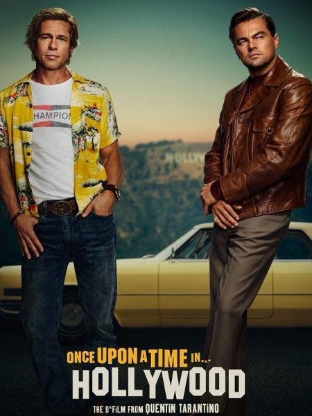 """Cartaz do filme """"Once Upon a Time in... Hollywood"""" - Divulgação"""