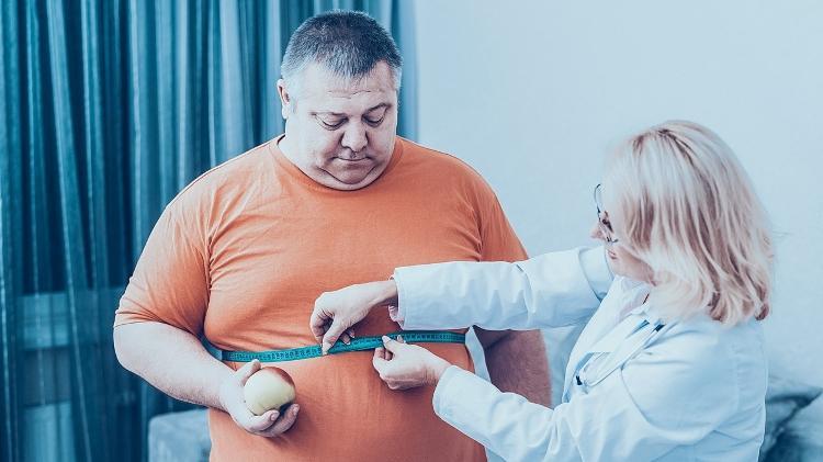 obeso, obesidade, fazer dieta - iStock - iStock