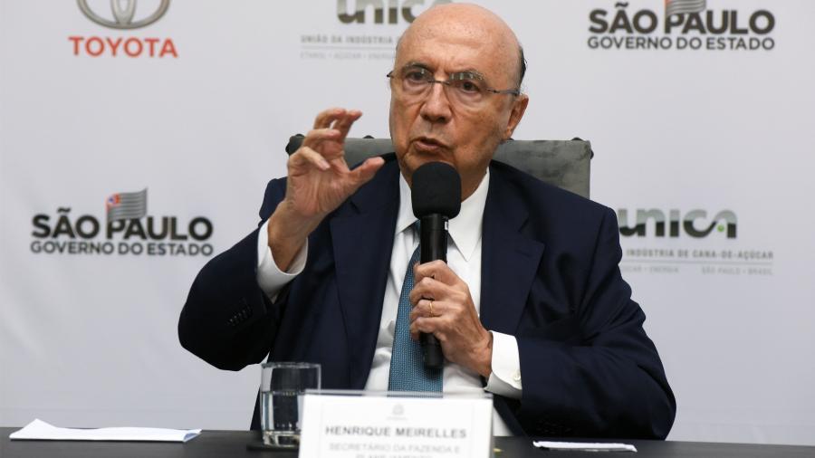 Henrique Meirelles participa de almoço-debate do Grupo de Líderes Empresariais (Lide) - Murilo Góes/UOL