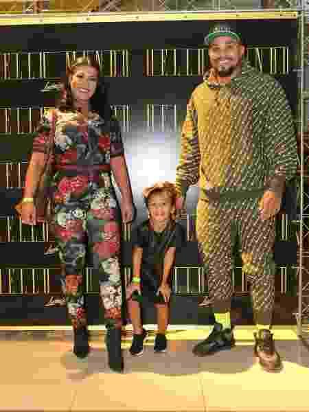 Moranguinho, Naldo e a filha Maria Victória - Reginaldo Teixeira/Divulgação