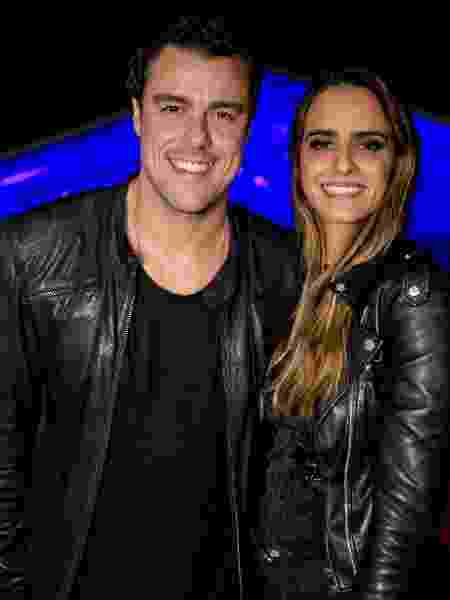 Ator Joaquim Lopes e a namorada Marcella Fogaça  - Wanderson Monteiro