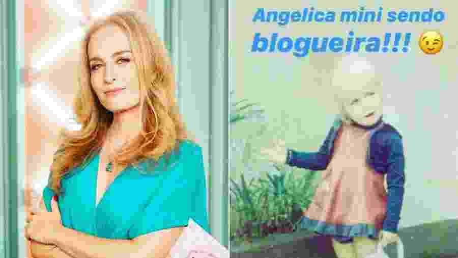 Angélica relembra clique quando era criança - Reprodução/Instagram