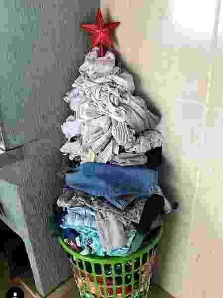 Tatá Werneck montou uma árvore de natal criativa - Reprodução/ Instagram