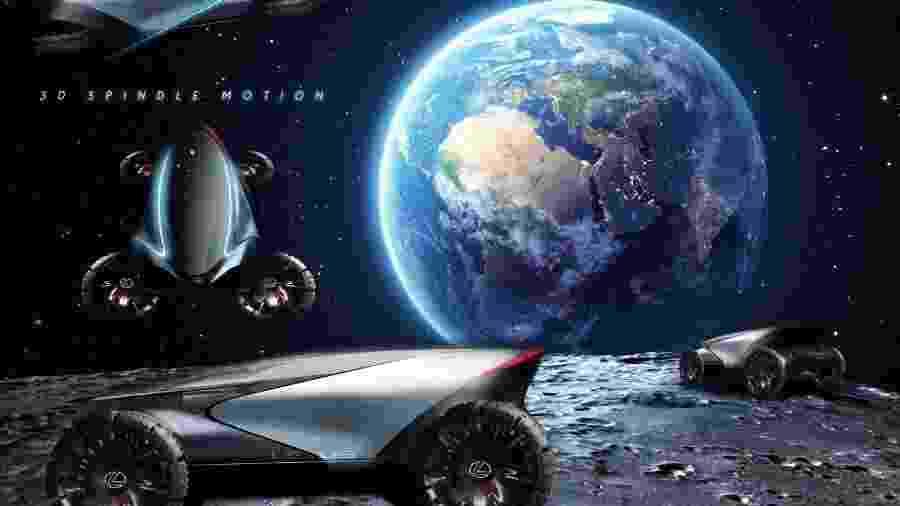 Lunar Cruiser da Lexus - Divulgação
