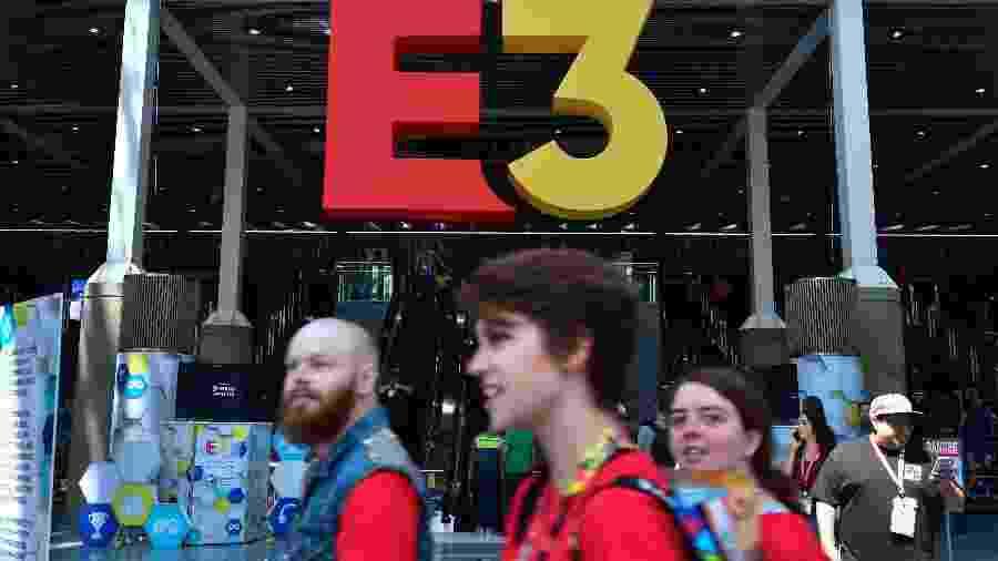 E3 2020 vai acontecer em junho, nos EUA - FREDERIC J. BROWN/AFP