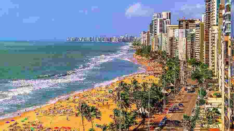 O banho de mar estará liberado na orla do Recife, mas segue proibida a utilização de guarda-sol e cadeiras na praia - Getty Images/iStockphoto