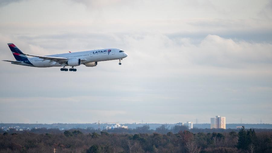 Avião da Latam - Getty Images