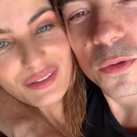 Isabelli Fontana e Di Ferrero - Reprodução/Instagram