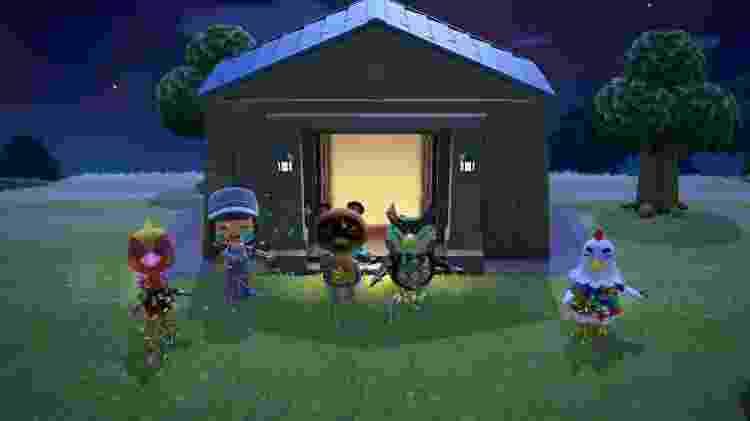 Animal Crossing habitantes da ilha - Reprodução - Reprodução