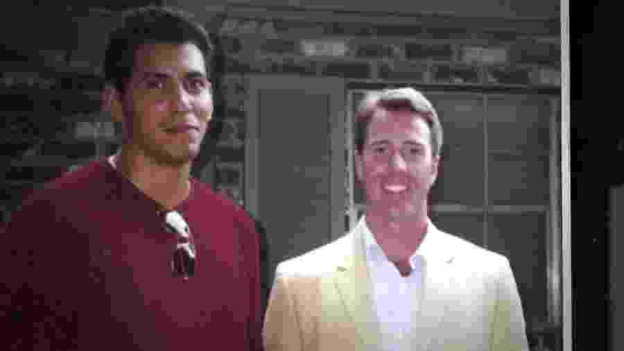 Mistérios Sem Solução: Rey Rivera e seu amigo Porter Stansberry  - Reprodução