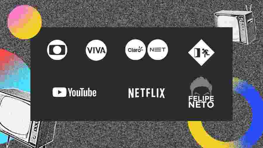 Nos 70 anos da TV no Brasil, diferentes protagonistas deste mercado refletem sobre o seu futuro  - Arte/UOL