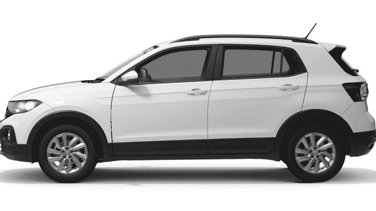 Volkswagen T-Cross 200 TSI automático - Divulgação - Divulgação