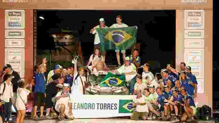 Leandro Torres e Lourival Roudan - Marcelo Melo/Photosdakar.com - Marcelo Melo/Photosdakar.com