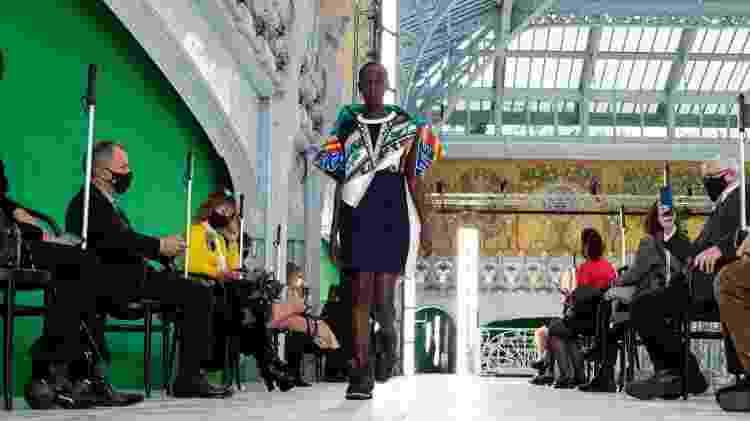Desfile da coleção Ready-to-Wear 2021 da Louis Vuitton na Semana de Moda de Paris  - Getty Images - Getty Images