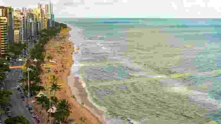 Praia de Boa Viagem, em Recife - Getty Images/iStockphoto - Getty Images/iStockphoto