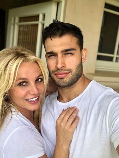 Britney Spears e namorado, Sam Asghari - Reprodução/Instagram