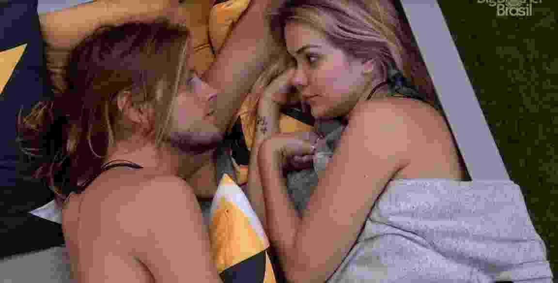 Daniel e Marcela BBB - Reprodução/ TV Globo