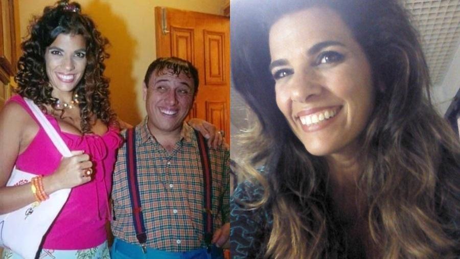 """Luciana Coutinho interpretou Dona Candinha ao lado de Pedro Bismarck como Nerson da Capitinga no """"Zorra total"""" - Reprodução/Instagram"""