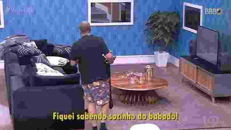 BBB 21: Fãs brincam e chamam Projota de Maria Fifi - Reprodução/ Globoplay - Reprodução/ Globoplay