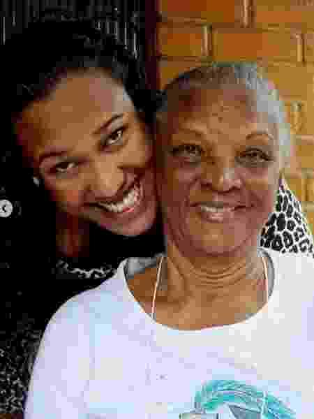 Lu Xavier com a avó, a atriz Chica Xavier - Reprodução/Instagram @luaxavier Verificado - Reprodução/Instagram @luaxavier Verificado