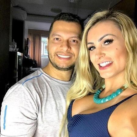 Andressa Urach e Thiago Lopes - Reprodução/Instagram