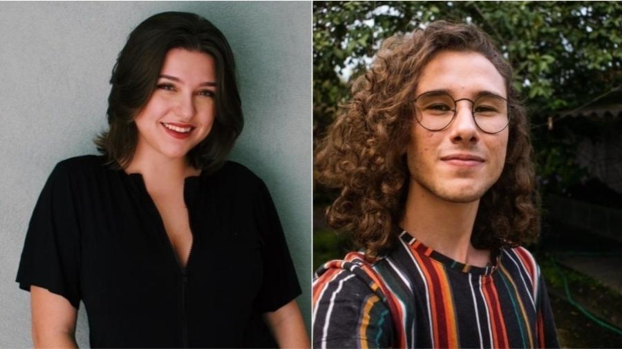 A divulgadora científica Beatriz Klimeck e o gestor de redes sociais Ralph Holzmann criaram perfil no Instagram para falar sobre proteção contra covid - Arquivo pessoal