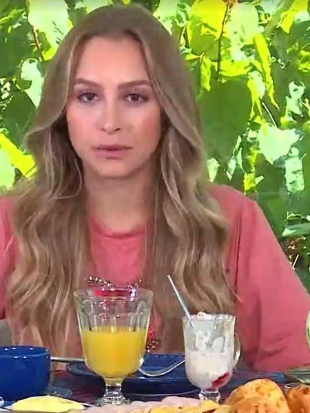 BBB 21: Carla Diaz agradeceu Ana Maria por abrir seus olhos sobre Arthur - Reprodução/TV Globo